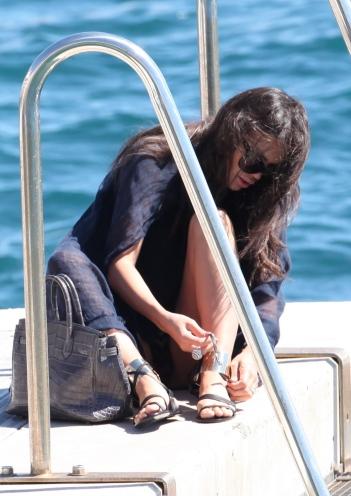 Michelle Rodriguez at Eden roc