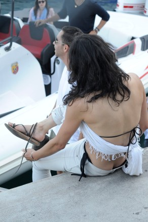 Michelle Rodriguez in Monte Carlo for the Formula 1 Grand Prix.