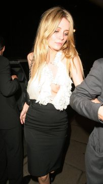 Mischa Barton Boujis Club London 05/17/2007