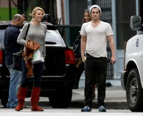 Exclusive & Penn & Blake Out In Chelsea