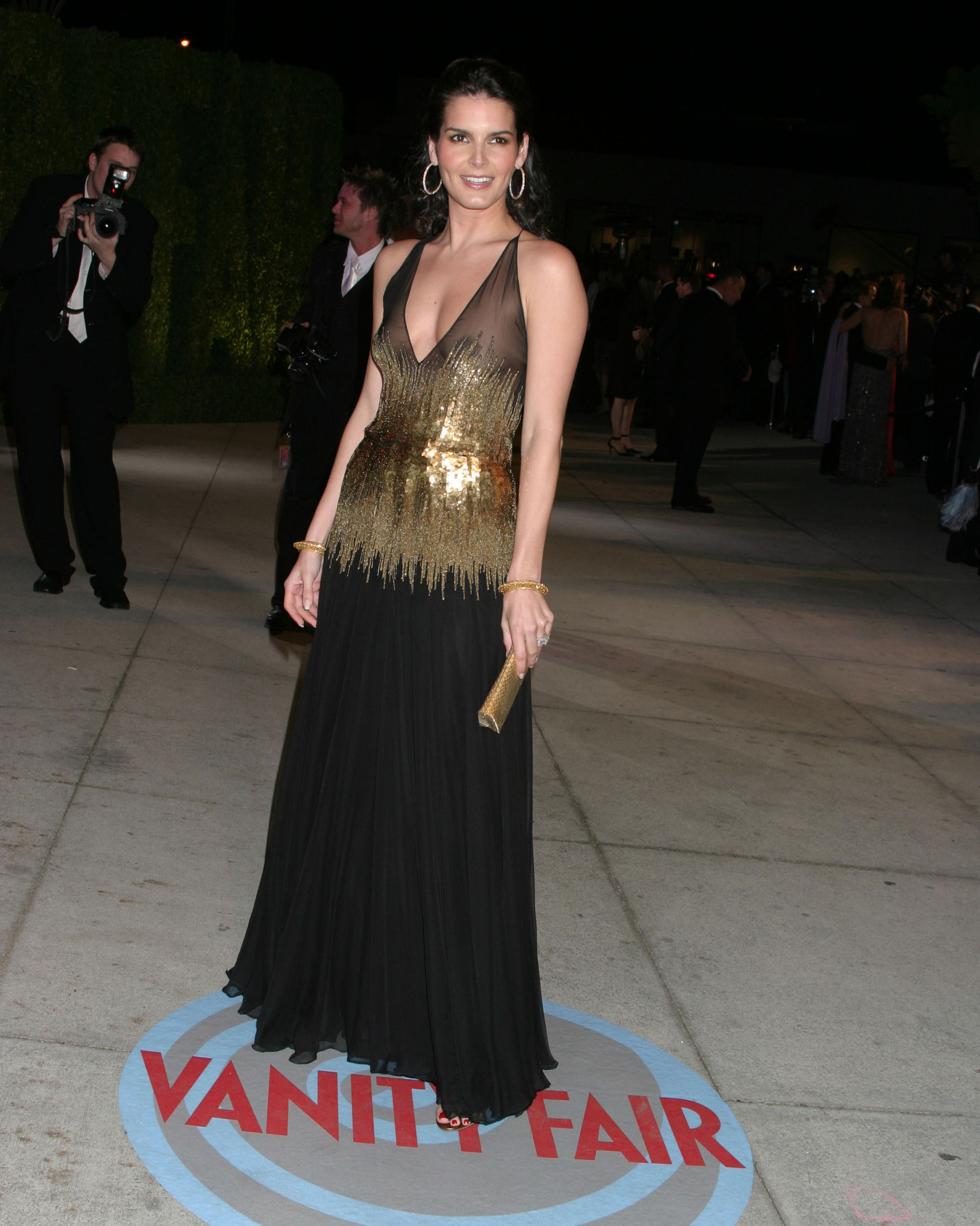 The message Angie harmon upskirt you were