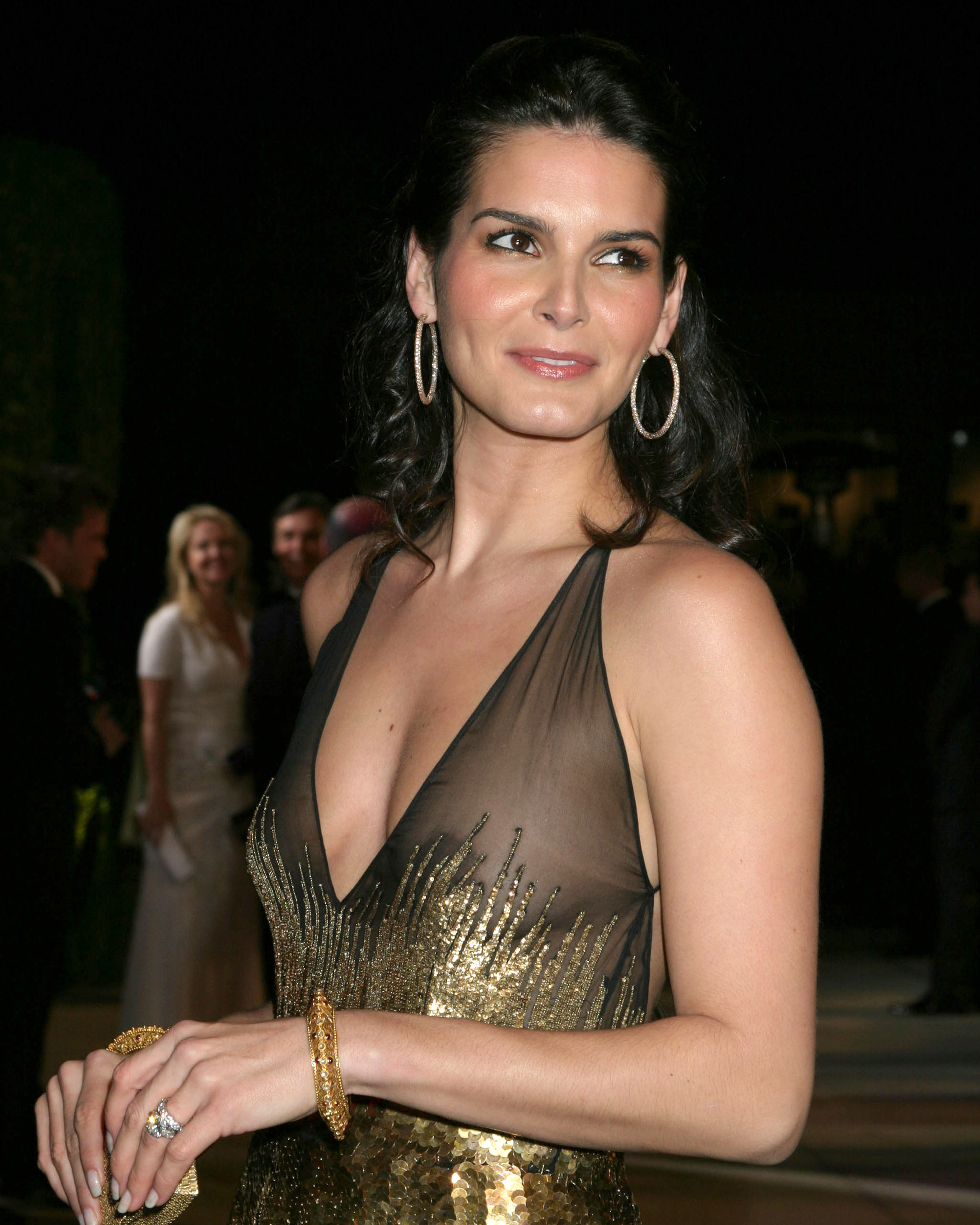 Angie Harmon At More Magazine September 2013: Angie Harmon @ The Vanity Fair Oscar Party In West