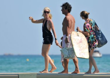 Tamara BeckwithHoliday in the South of France, July 23, 2010
