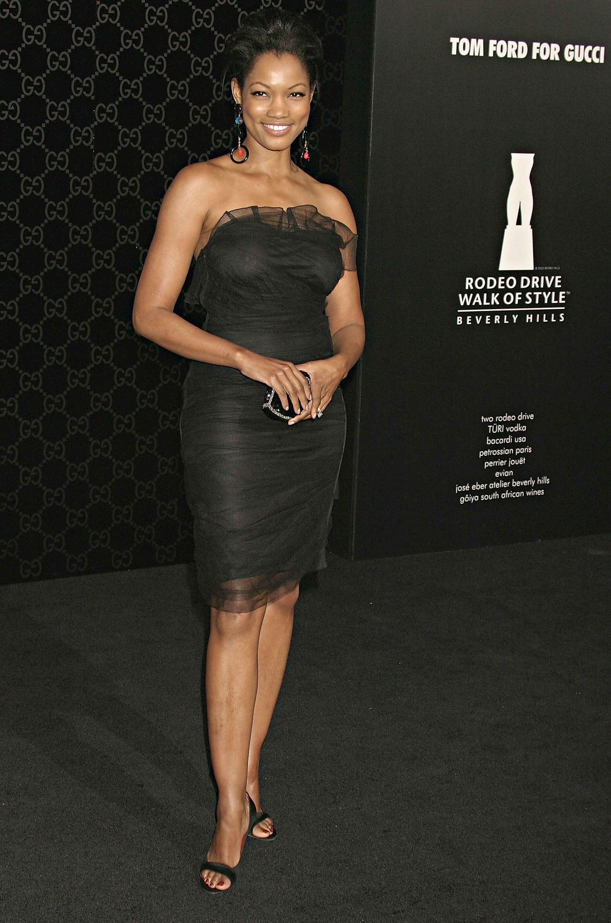 Garcelle Beauvais Rodeo Drive Walk Of Style Honoring Tom